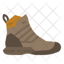 Boots Footwear Traveling Icon