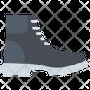 Boots Shoes Men Icon