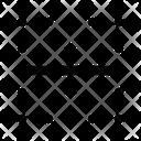 Border Horizontal Border Horizontal Border Icon