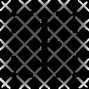 Border Vertical Vertical Border Border Icon