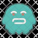Bored Emoticon Emoji Icon