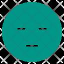 Bored Dull Face Icon