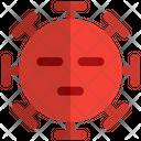 Bored Coronavirus Emoji Coronavirus Icon