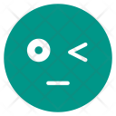 Bored Dull Wink Icon