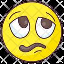 Bored Emoji Icon