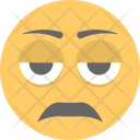 Bored Face Icon