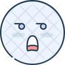 Emoji Boring Icon