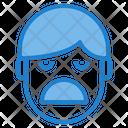 Boring Emotion Face Icon