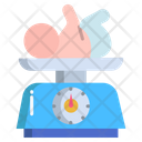 Born Baby Weight Baby Weight Weight Scale Icon