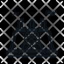 Line X Borobudur Icon