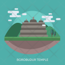Borobudur Temple Landmark Icon