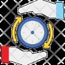Borrow Clock Duration Icon