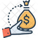 Borrower Loan Bribery Icon