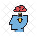 Borrowing Ideas Borrowing Brain Icon