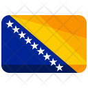 Bosnia Herzegovina Flag Icon