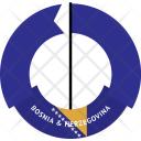 Bosnia Herzegovina Country Icon