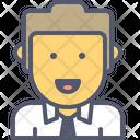 Boss Lawyer Male Icon
