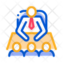 Office Business Meetingpeople Icon