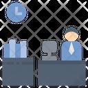 Office Employee Businessman Icon