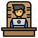 Boss Manager Laptop Icon