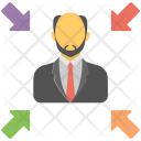 Leader Manager Boss Icon
