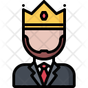 Boss King Crown Icon