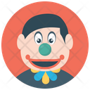 Character Clown Boss Costume Circus Joker Icon