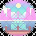 Boston Bridge Massachusetts Icon