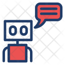 Message Comment Robot Icon