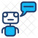 Robot Comment Message Icon