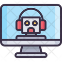 Bot Support Bot Online Bot Icon