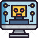 Bot Monitor Screen Icon