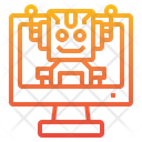 Bot Prototype Design Icon