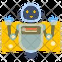 Bot Robot Cyborg Icon