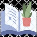 Botanical Book Icon