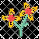 Botanical Flowers Icon