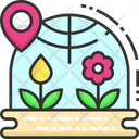Botanical Garden Plantation Gardening Icon