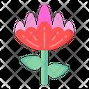Botanical Lily Icon