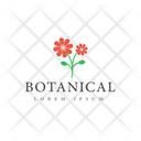 Botanical Logo Icon