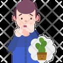 Botanophobia Fear Of Plants Icon