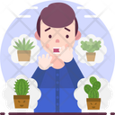 Botanophobia Fear Of Plants Icon