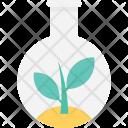Flask Botany Leaf Icon