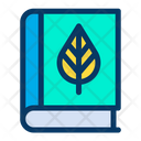 Botany Book Agricultural Book Icon