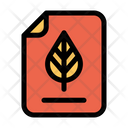 Botany Document Agricultural Document Icon