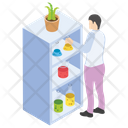 Botany Experiment Plant Research Lab Experiment Icon
