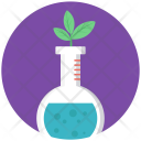 Biological Biotechnology Science Icon