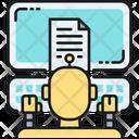 Bots Copywriting Copywriting Robot Icon