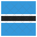 Botswana National Country Icon
