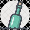 Bottle Sea Ocean Icon