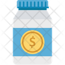 Container Jar Financial Icon